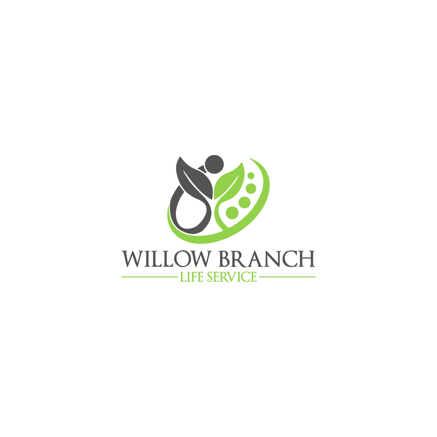 Logo Design by Badal Hossain - Entry No. 267 in the Logo Design Contest Artistic Logo Design for Willow Branch Life Service.