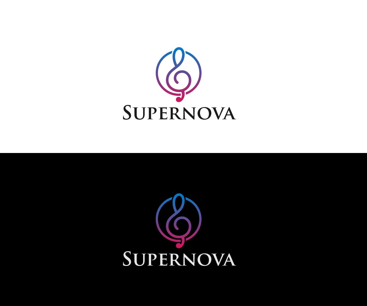 Logo Design by Juan Luna - Entry No. 10 in the Logo Design Contest Creative Logo Design for Supernova.