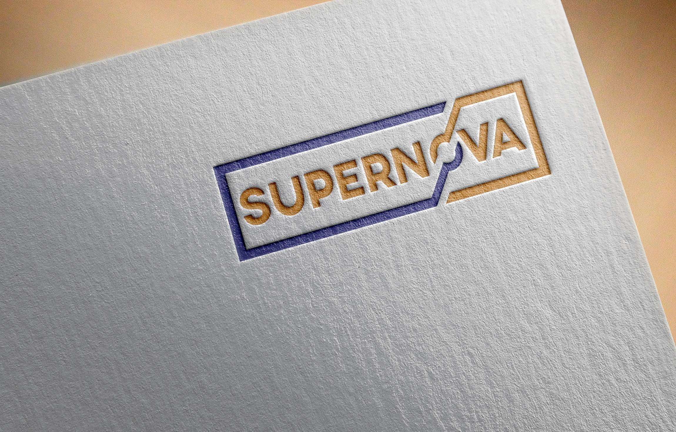 Logo Design by Ayrin Akter - Entry No. 17 in the Logo Design Contest Creative Logo Design for Supernova.