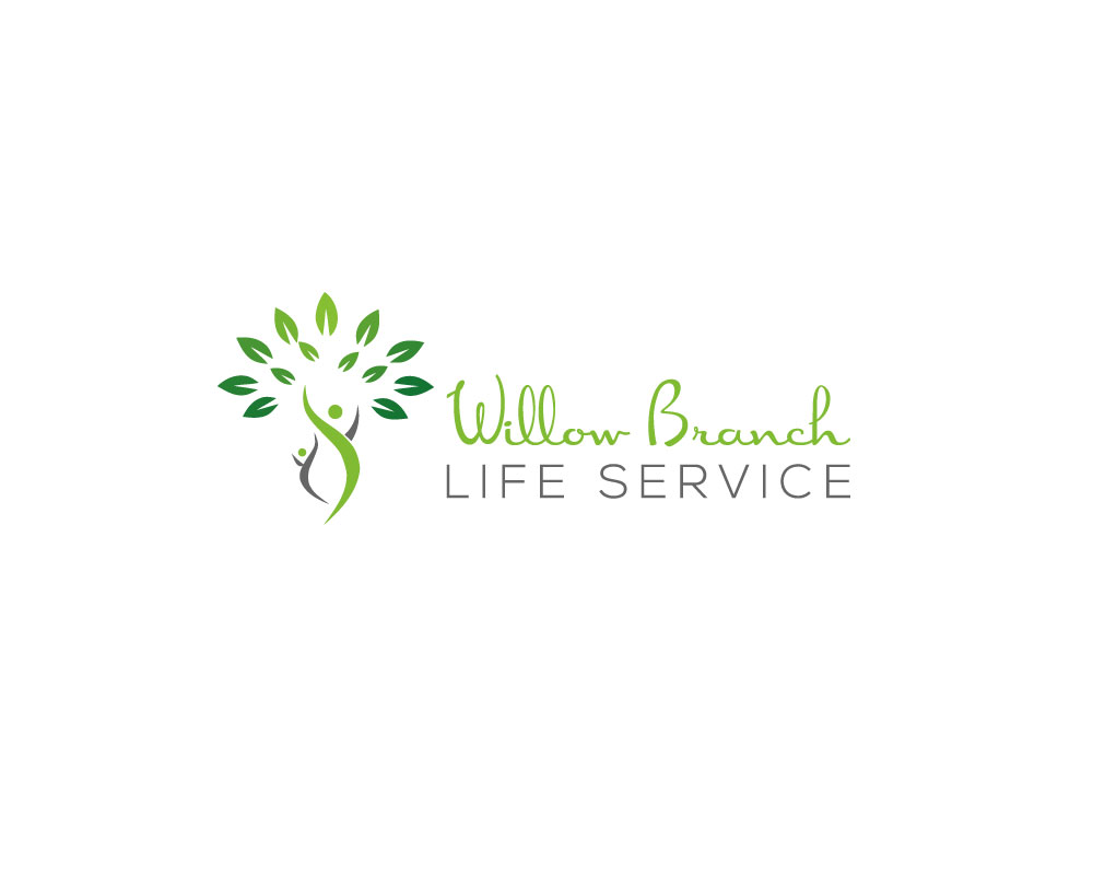 Logo Design by Mohammad azad Hossain - Entry No. 272 in the Logo Design Contest Artistic Logo Design for Willow Branch Life Service.
