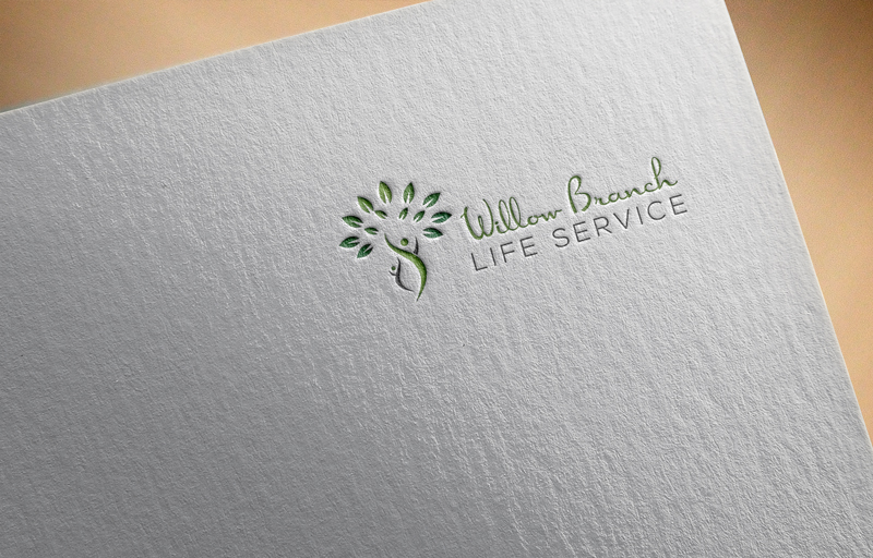 Logo Design by Mohammad azad Hossain - Entry No. 273 in the Logo Design Contest Artistic Logo Design for Willow Branch Life Service.