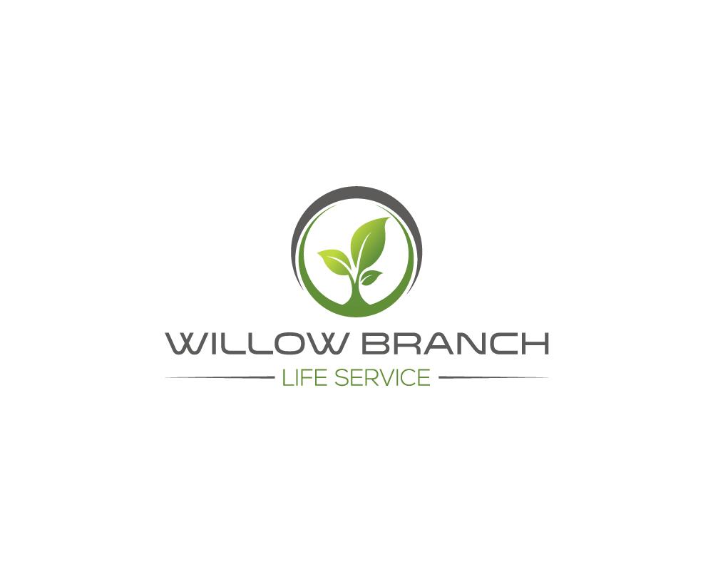 Logo Design by Sazzad Rizvi - Entry No. 274 in the Logo Design Contest Artistic Logo Design for Willow Branch Life Service.