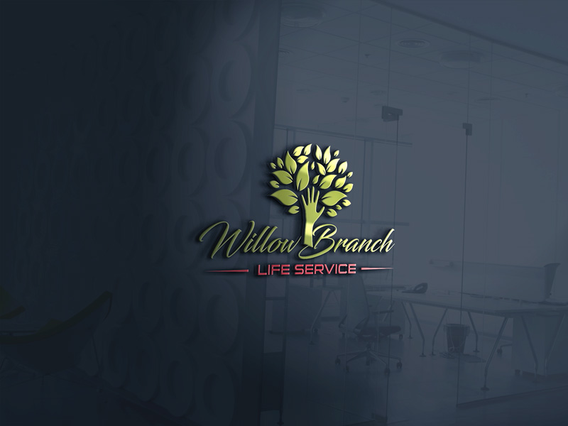Logo Design by Ajaz ahmed Sohail - Entry No. 275 in the Logo Design Contest Artistic Logo Design for Willow Branch Life Service.