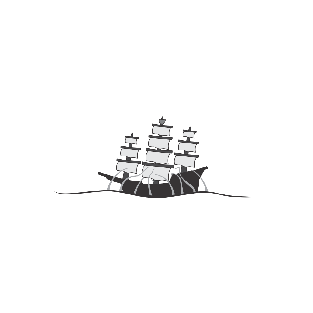 Logo Design by robbiemack - Entry No. 29 in the Logo Design Contest Sea Monster Attacks Ship.