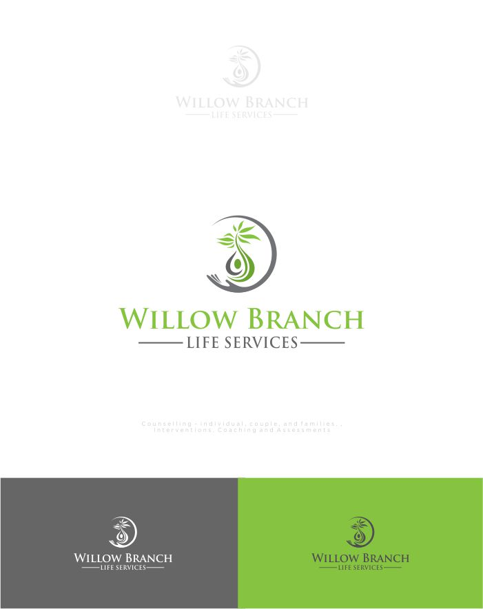Logo Design by Raymond Garcia - Entry No. 279 in the Logo Design Contest Artistic Logo Design for Willow Branch Life Service.