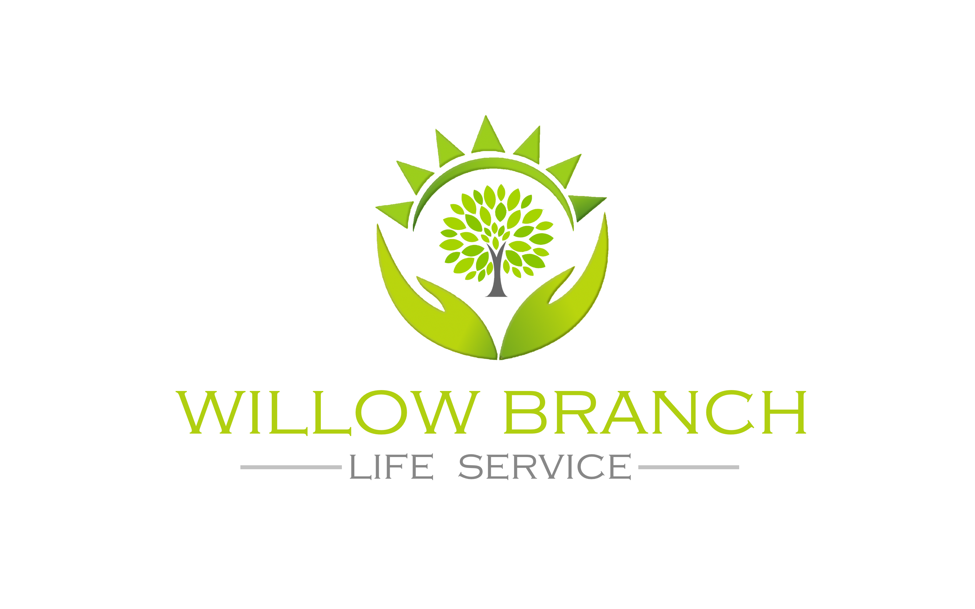 Logo Design by Roberto Bassi - Entry No. 282 in the Logo Design Contest Artistic Logo Design for Willow Branch Life Service.