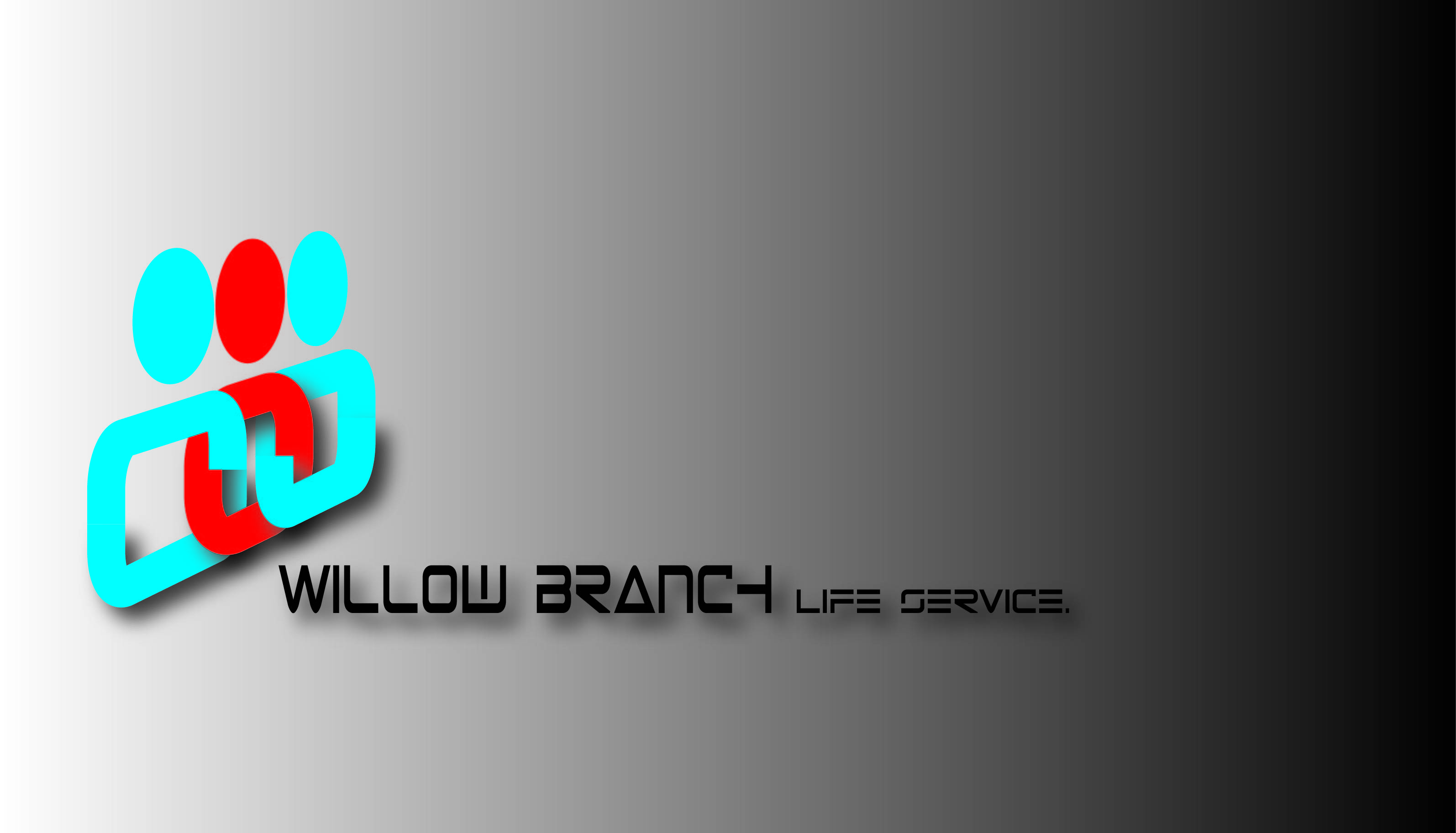 Logo Design by Girish Bhoite - Entry No. 283 in the Logo Design Contest Artistic Logo Design for Willow Branch Life Service.