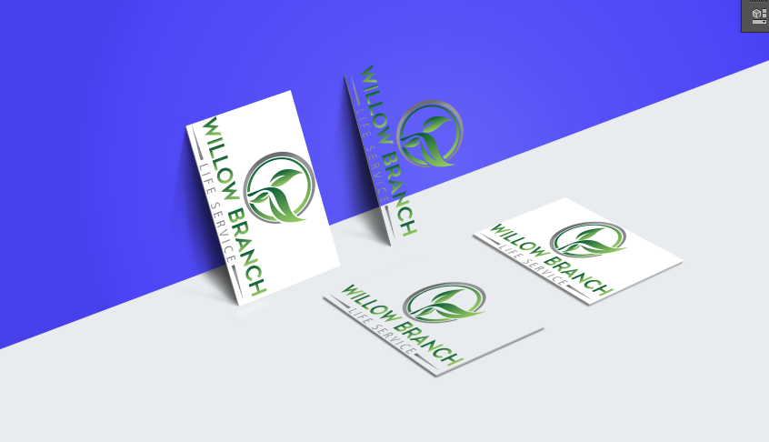 Logo Design by Melton Design - Entry No. 287 in the Logo Design Contest Artistic Logo Design for Willow Branch Life Service.