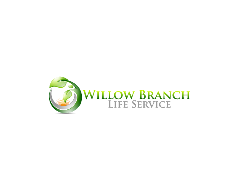 Logo Design by Private User - Entry No. 294 in the Logo Design Contest Artistic Logo Design for Willow Branch Life Service.