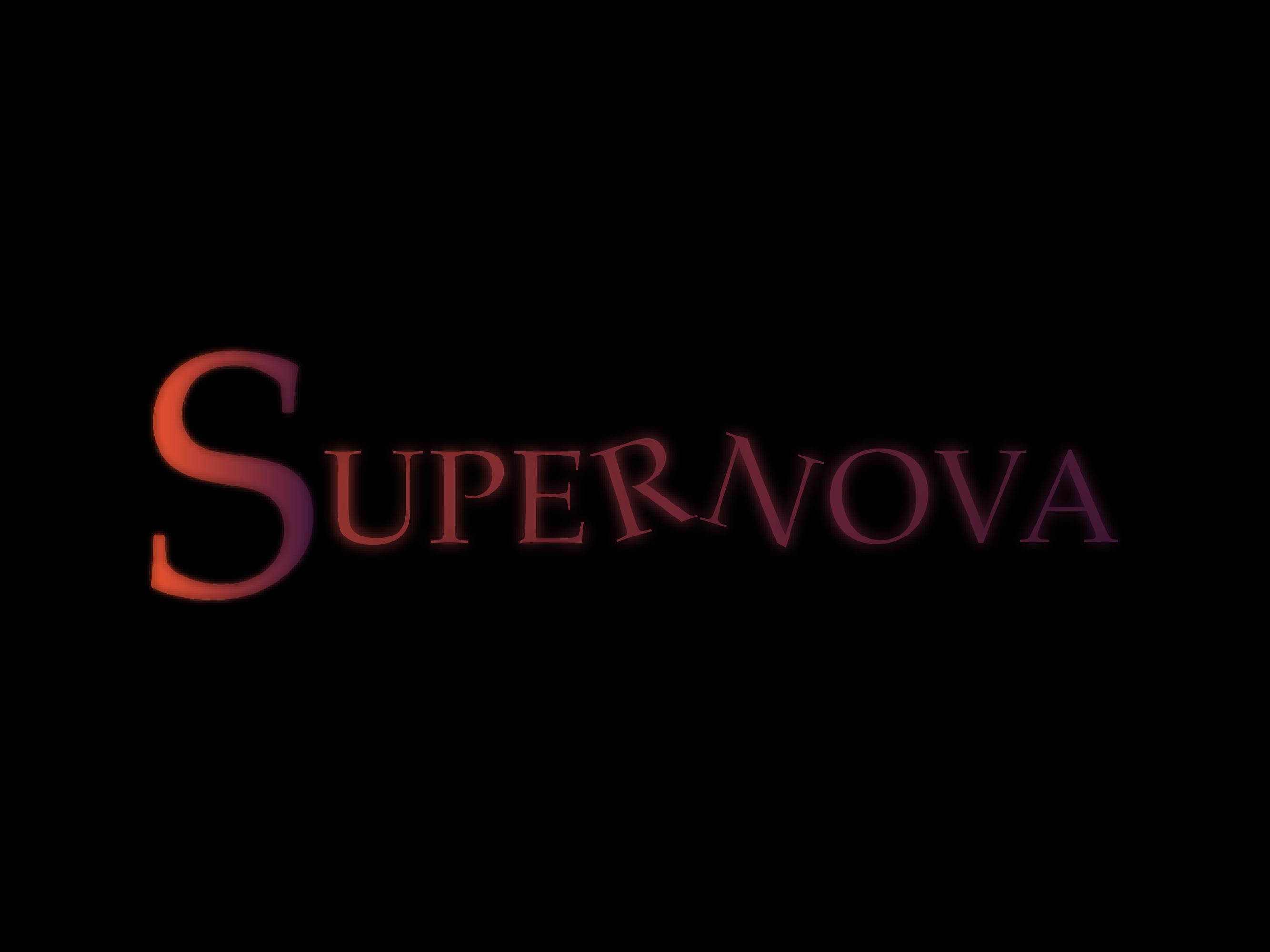 Logo Design by Inno - Entry No. 26 in the Logo Design Contest Creative Logo Design for Supernova.