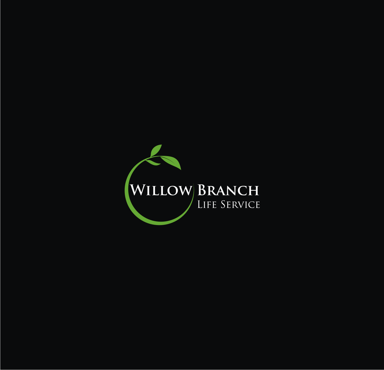 Logo Design by Sigitumarali Sigit - Entry No. 297 in the Logo Design Contest Artistic Logo Design for Willow Branch Life Service.
