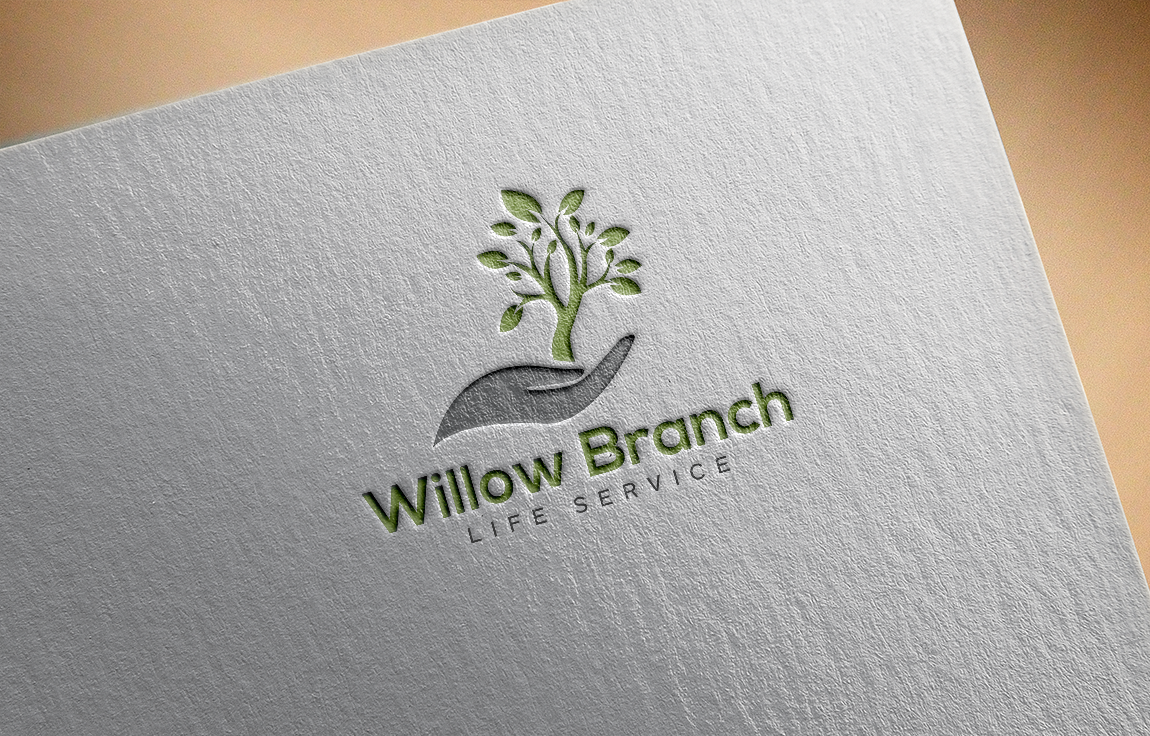 Logo Design by roc - Entry No. 307 in the Logo Design Contest Artistic Logo Design for Willow Branch Life Service.