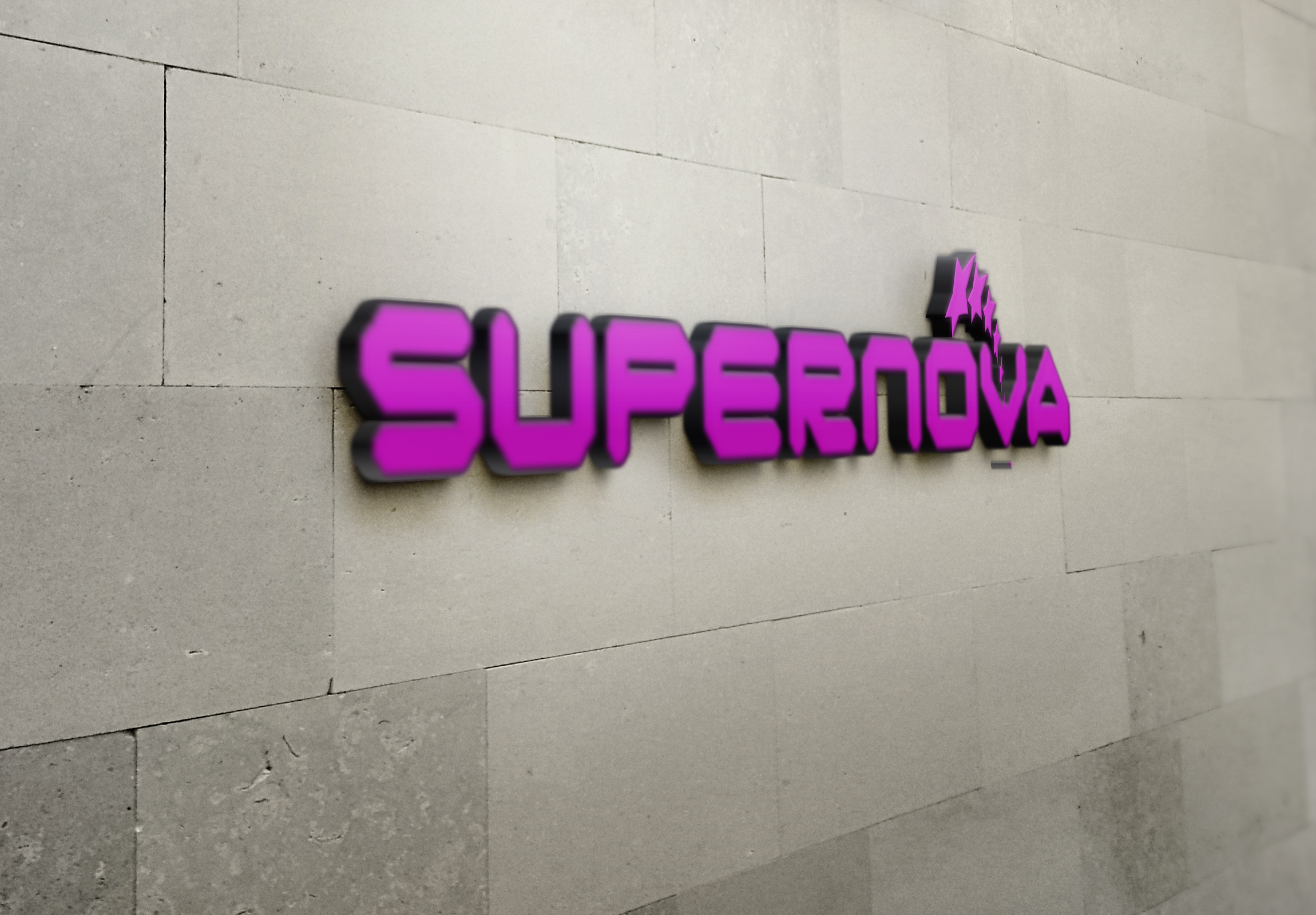 Logo Design by Goran Ledjenovic - Entry No. 39 in the Logo Design Contest Creative Logo Design for Supernova.