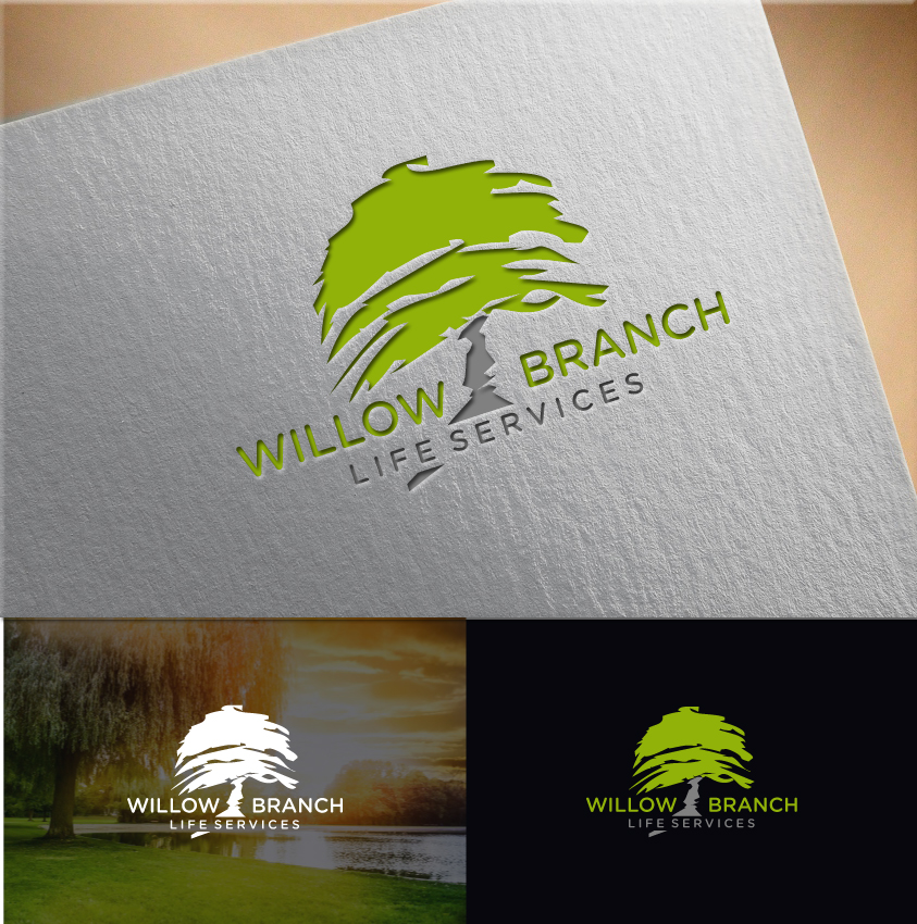 Logo Design by RasYa Muhammad Athaya - Entry No. 318 in the Logo Design Contest Artistic Logo Design for Willow Branch Life Service.