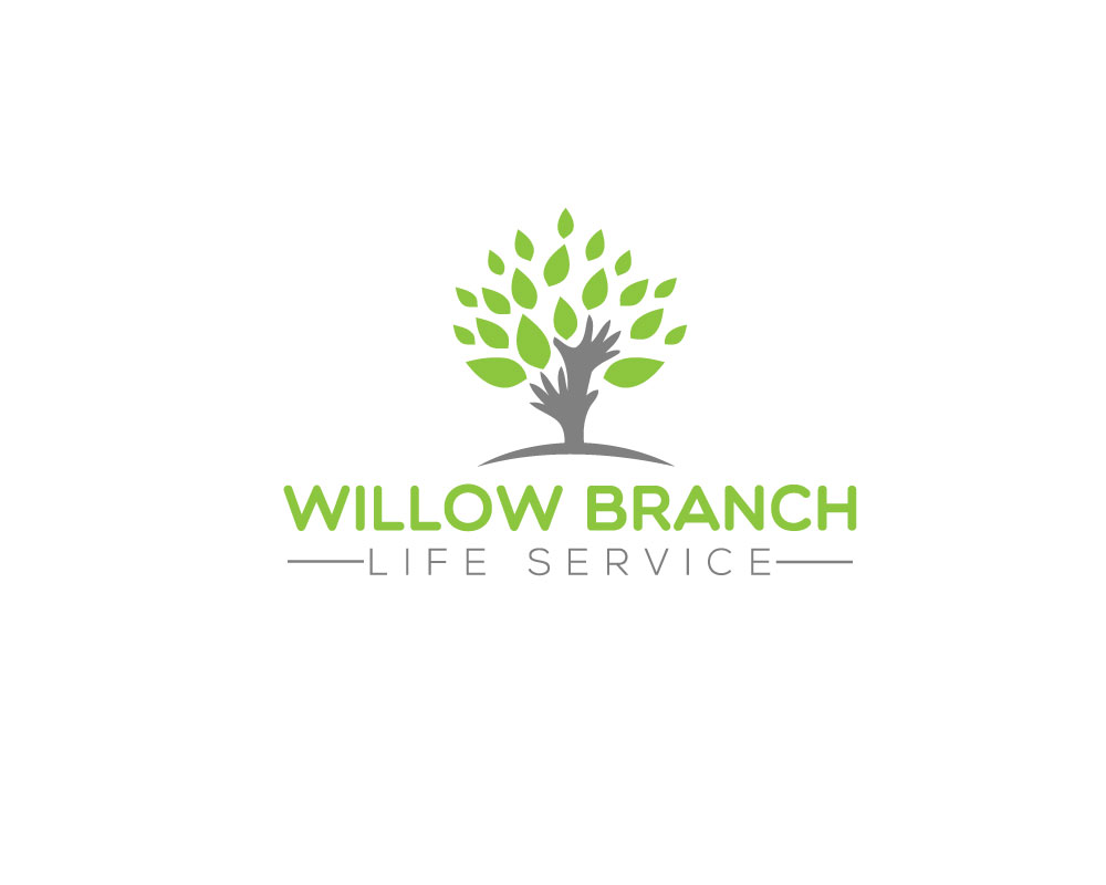 Logo Design by Mohammad azad Hossain - Entry No. 321 in the Logo Design Contest Artistic Logo Design for Willow Branch Life Service.