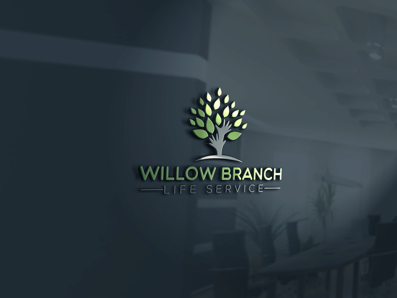 Logo Design by Mohammad azad Hossain - Entry No. 323 in the Logo Design Contest Artistic Logo Design for Willow Branch Life Service.