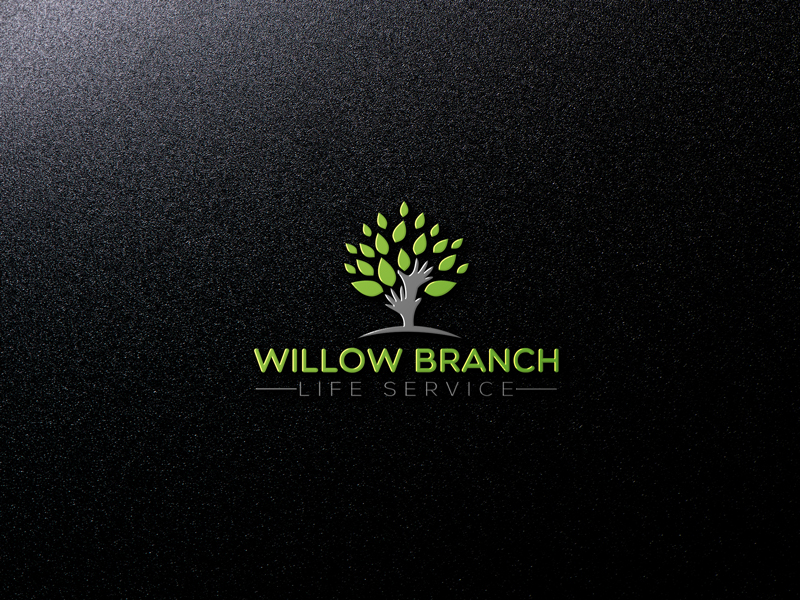 Logo Design by Mohammad azad Hossain - Entry No. 324 in the Logo Design Contest Artistic Logo Design for Willow Branch Life Service.
