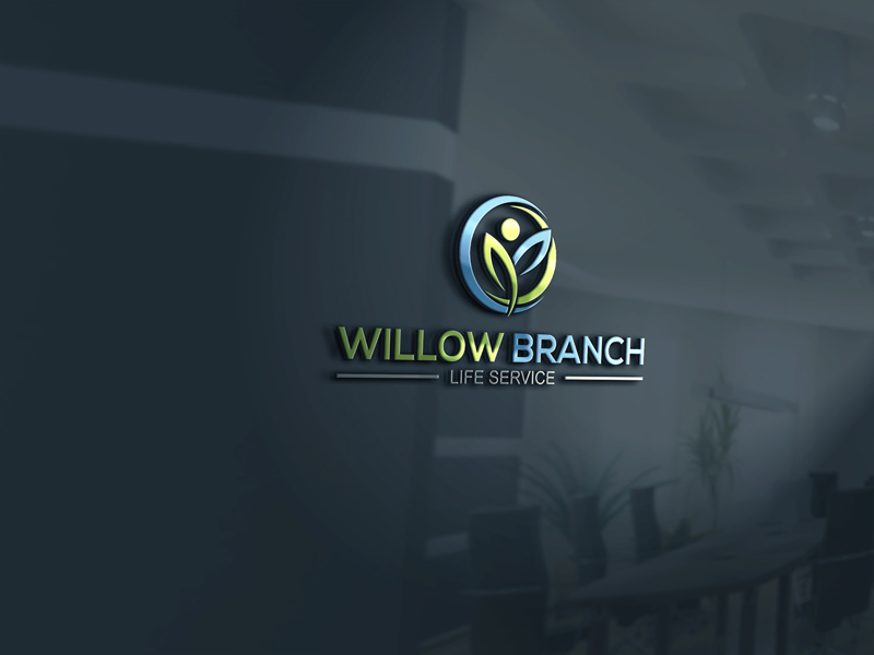 Logo Design by Private User - Entry No. 327 in the Logo Design Contest Artistic Logo Design for Willow Branch Life Service.
