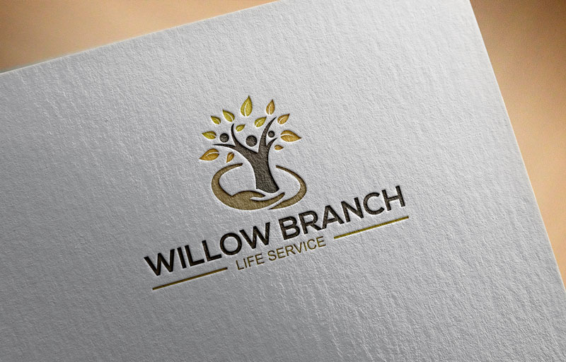 Logo Design by Private User - Entry No. 329 in the Logo Design Contest Artistic Logo Design for Willow Branch Life Service.