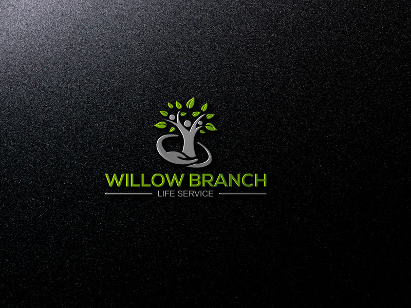 Logo Design by Private User - Entry No. 330 in the Logo Design Contest Artistic Logo Design for Willow Branch Life Service.