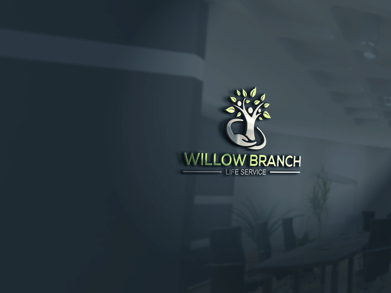 Logo Design by Private User - Entry No. 331 in the Logo Design Contest Artistic Logo Design for Willow Branch Life Service.