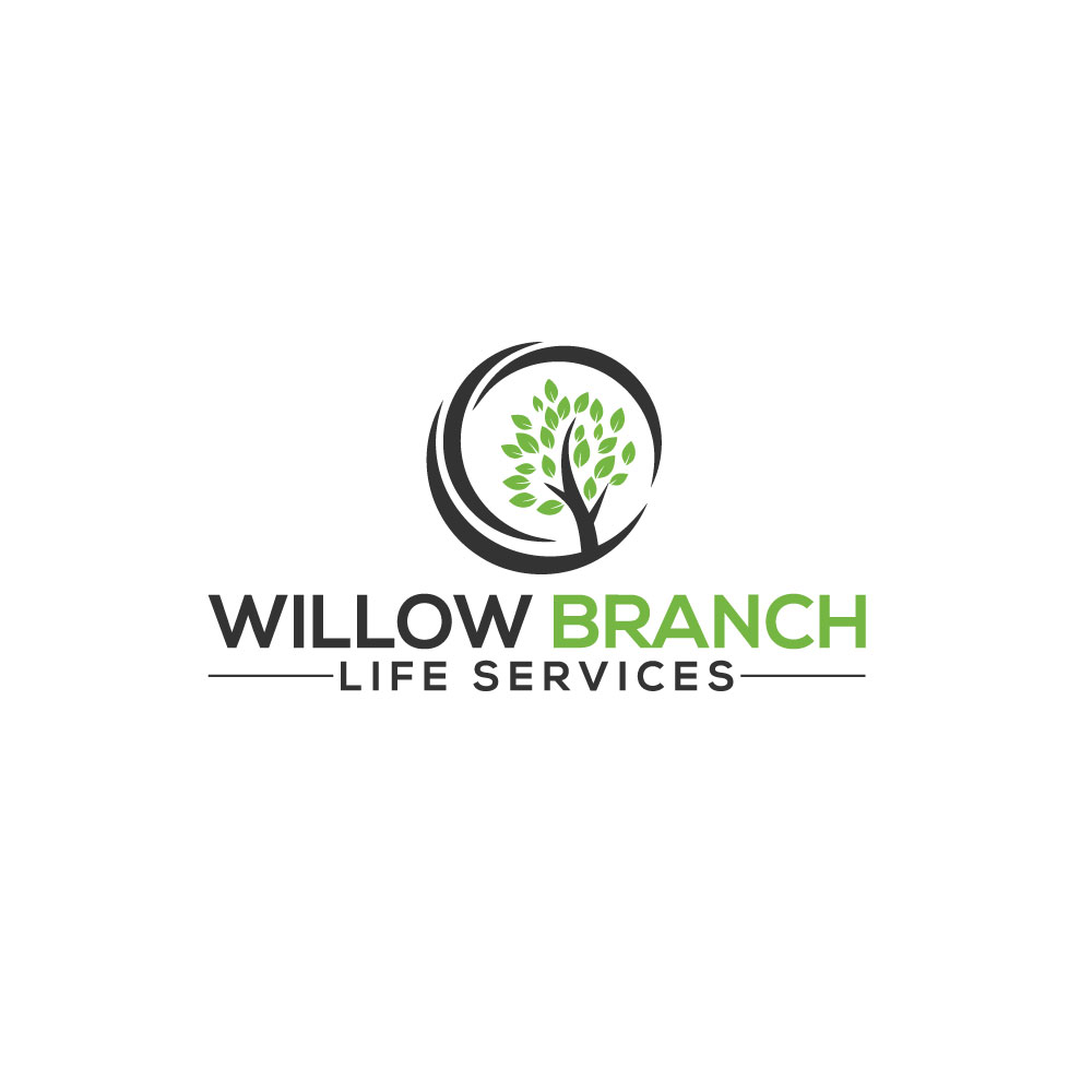 Logo Design by Easrat Jahan - Entry No. 332 in the Logo Design Contest Artistic Logo Design for Willow Branch Life Service.