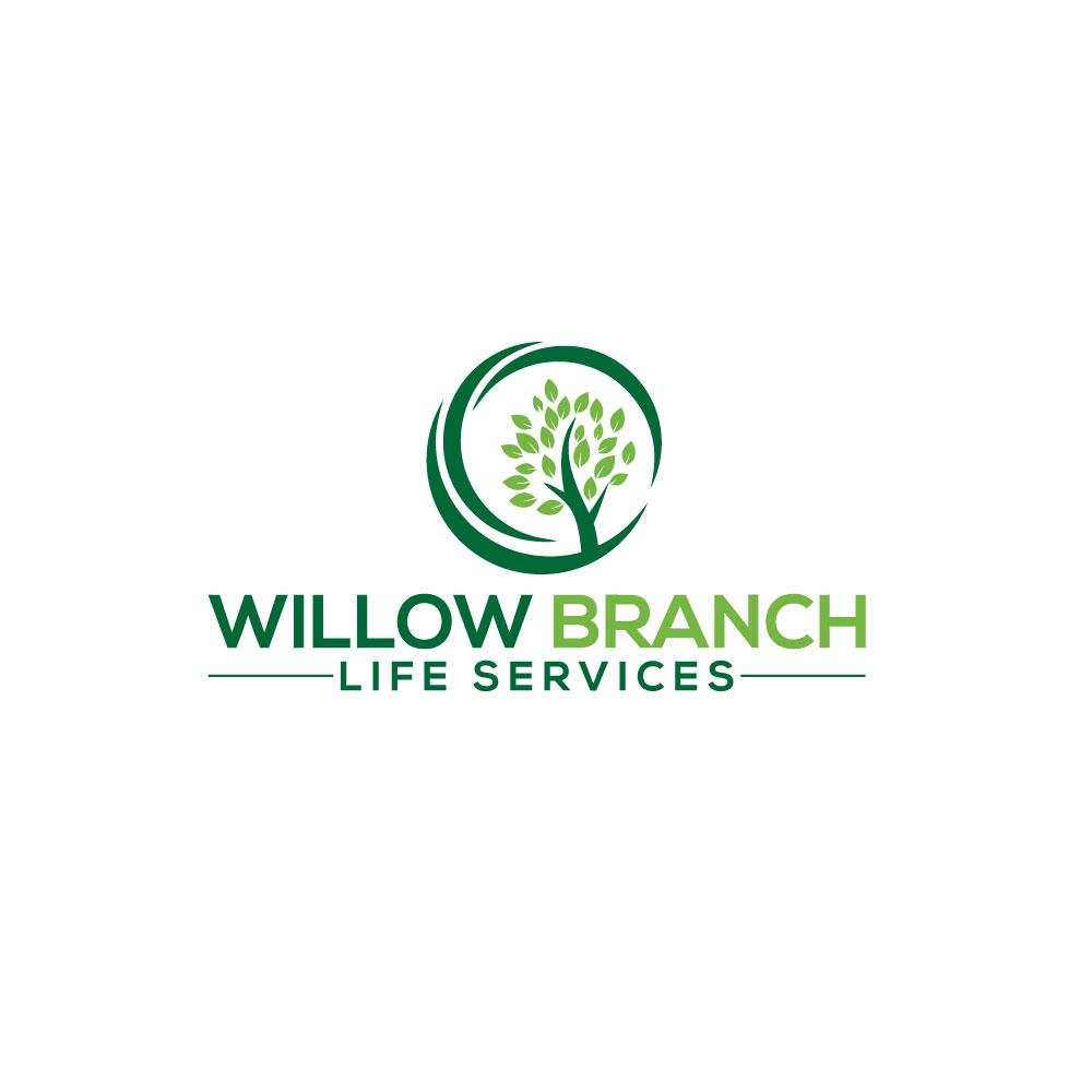Logo Design by Easrat Jahan - Entry No. 333 in the Logo Design Contest Artistic Logo Design for Willow Branch Life Service.