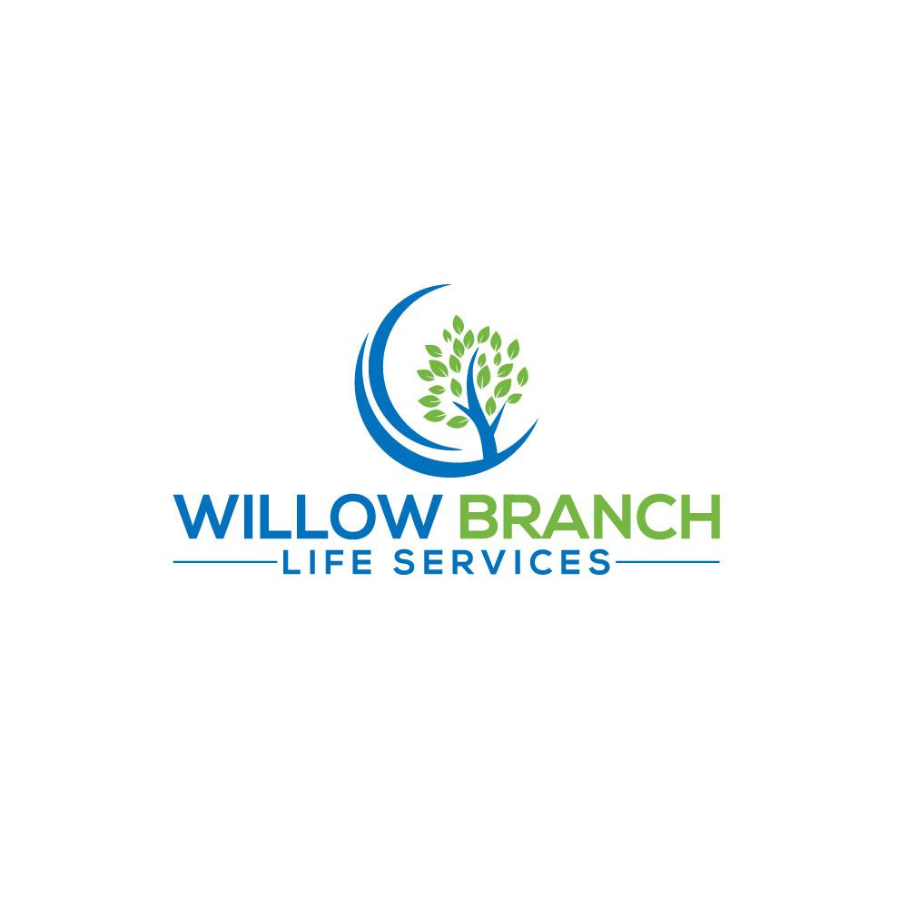 Logo Design by Easrat Jahan - Entry No. 335 in the Logo Design Contest Artistic Logo Design for Willow Branch Life Service.