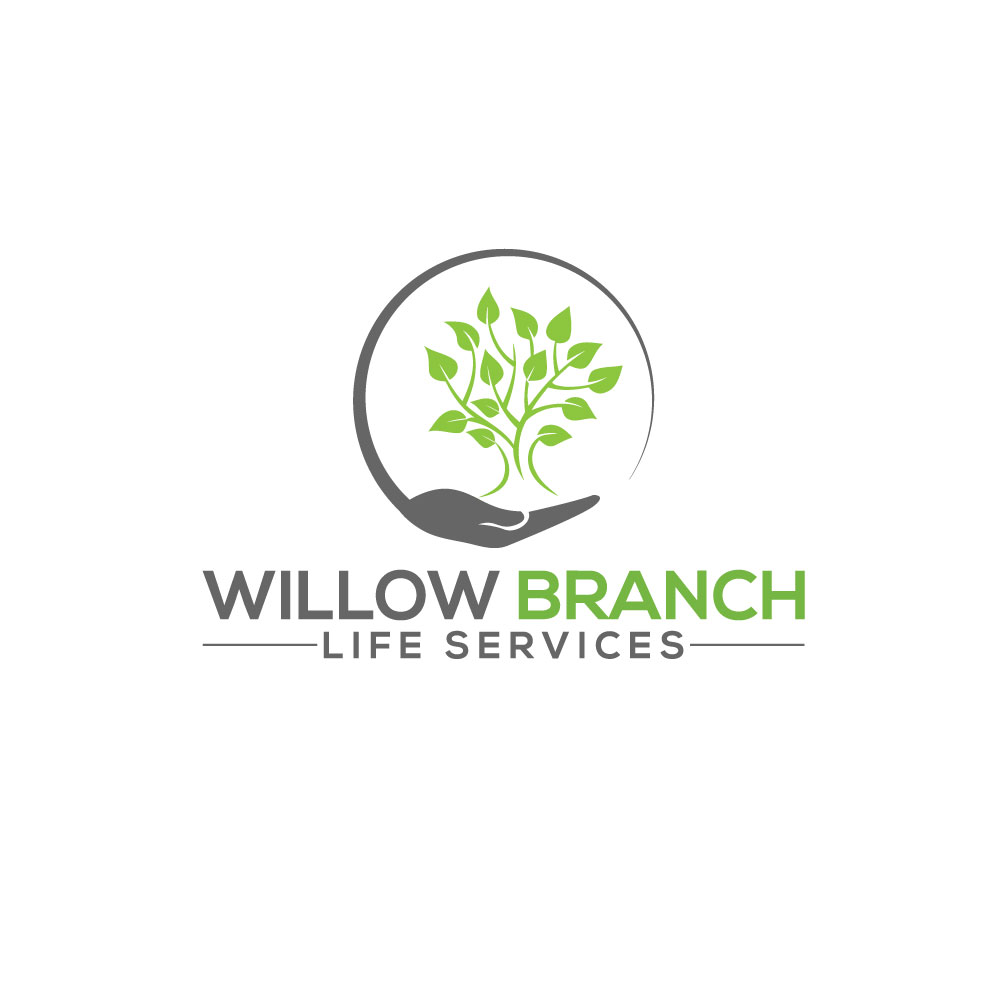 Logo Design by Easrat Jahan - Entry No. 336 in the Logo Design Contest Artistic Logo Design for Willow Branch Life Service.