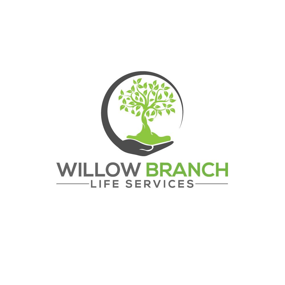 Logo Design by Easrat Jahan - Entry No. 337 in the Logo Design Contest Artistic Logo Design for Willow Branch Life Service.