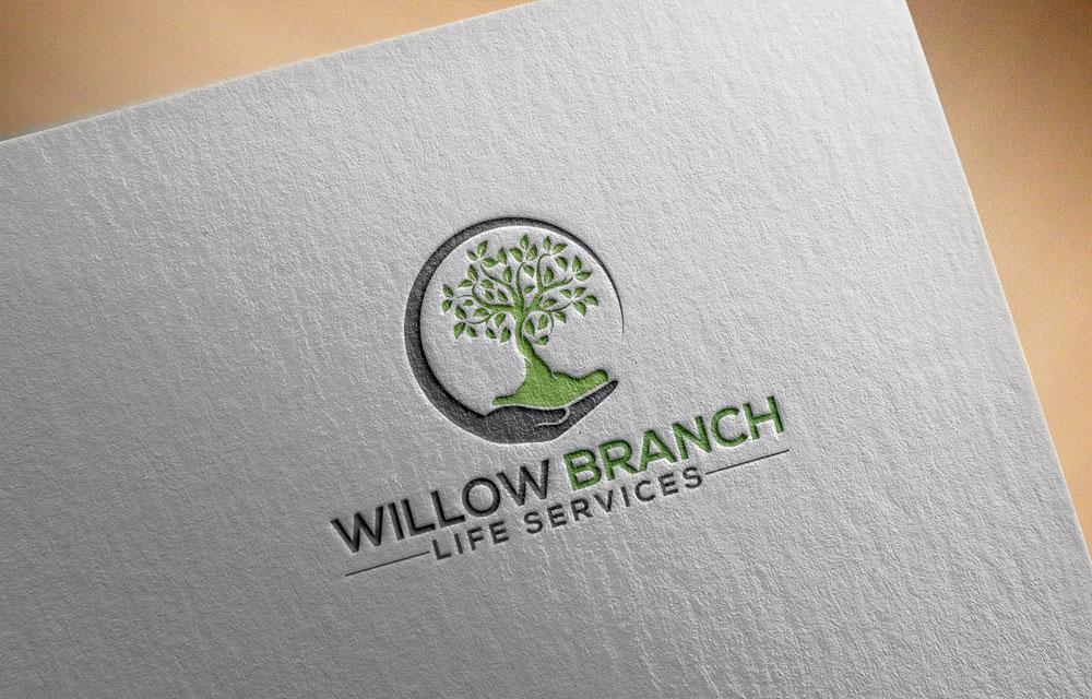 Logo Design by Easrat Jahan - Entry No. 338 in the Logo Design Contest Artistic Logo Design for Willow Branch Life Service.