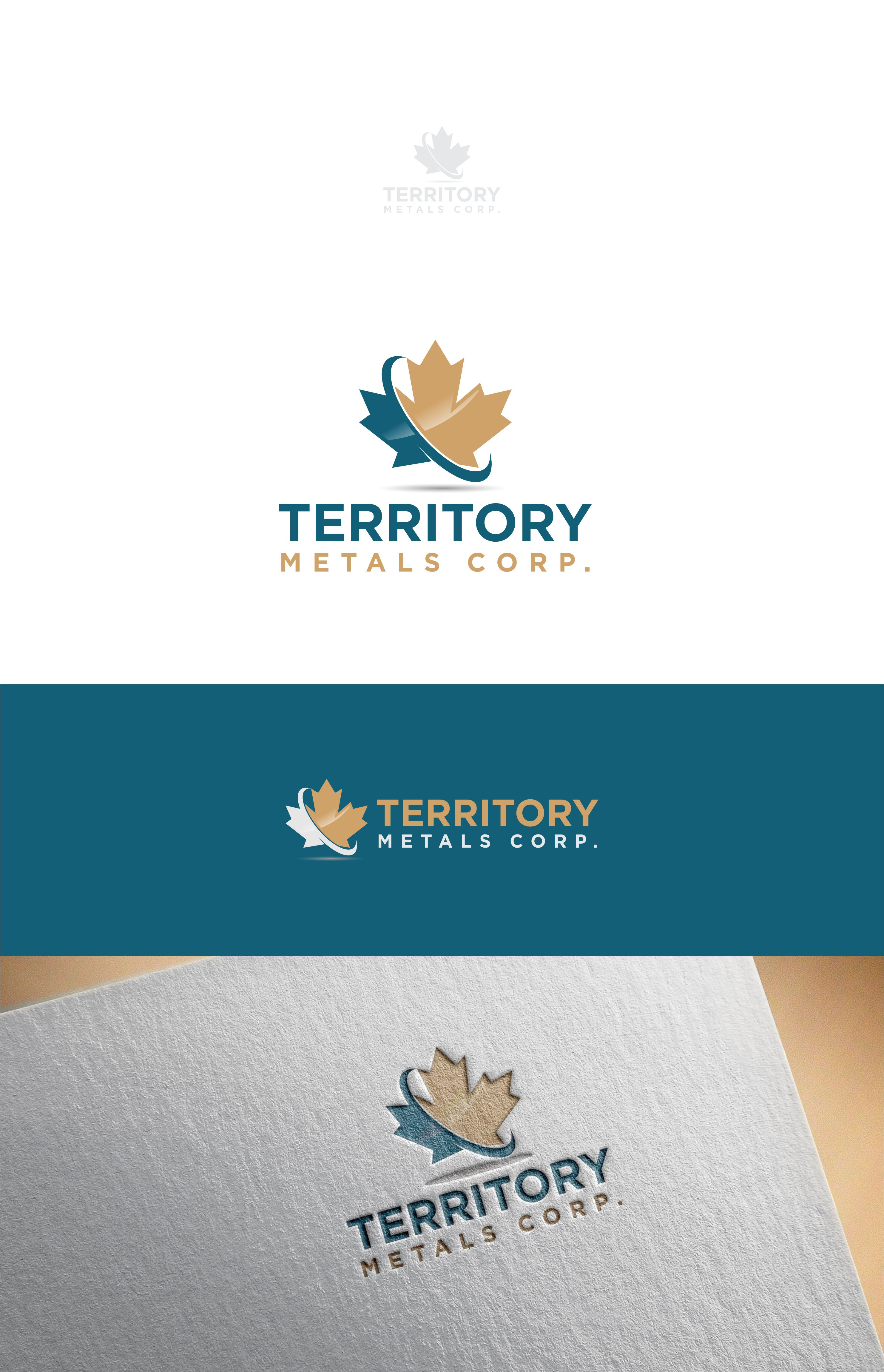 Logo Design by Raymond Garcia - Entry No. 200 in the Logo Design Contest Unique Logo Design Wanted for Territory Metals Corp..