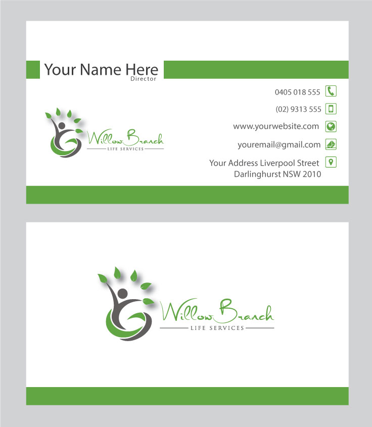 Logo Design by Highexpert Design - Entry No. 341 in the Logo Design Contest Artistic Logo Design for Willow Branch Life Service.