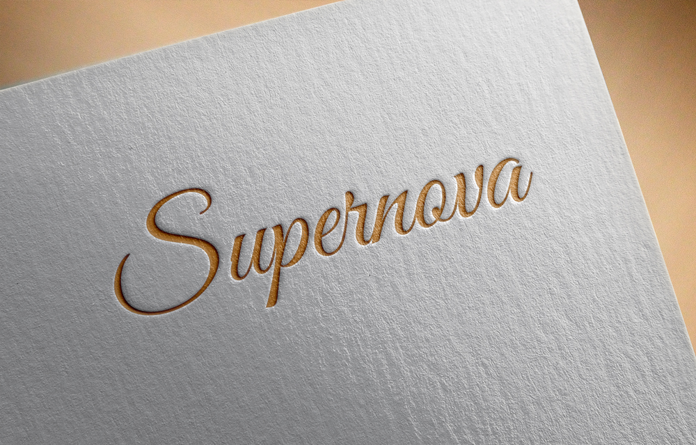 Logo Design by Mariam Mou - Entry No. 72 in the Logo Design Contest Creative Logo Design for Supernova.
