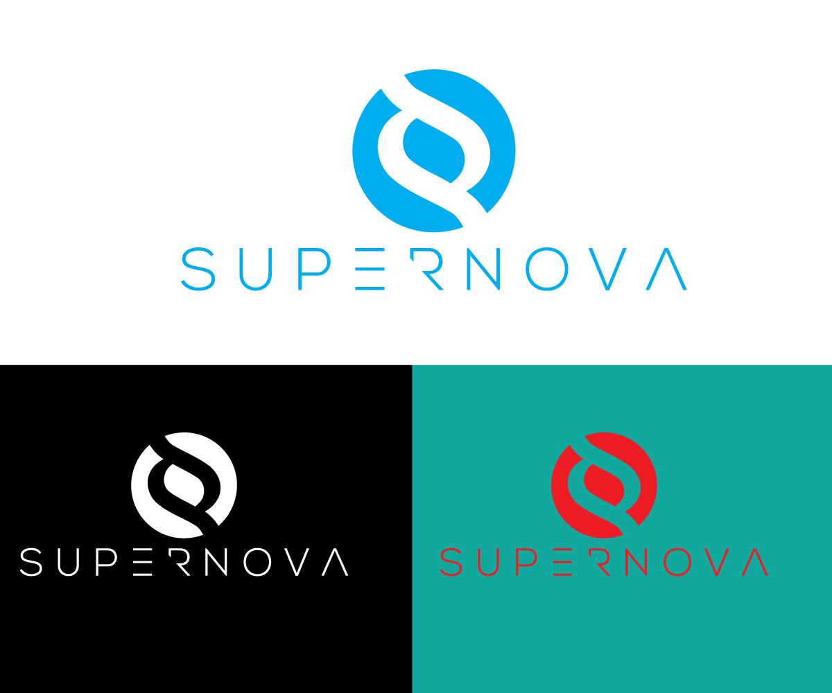 Logo Design by Ahmed Murad - Entry No. 73 in the Logo Design Contest Creative Logo Design for Supernova.