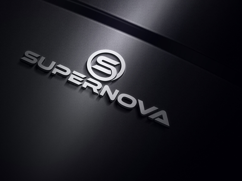 Logo Design by Mahedi Hasan - Entry No. 74 in the Logo Design Contest Creative Logo Design for Supernova.