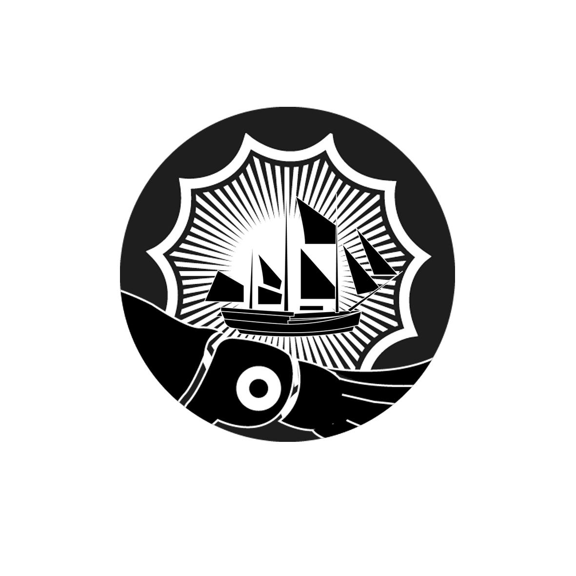 Logo Design by David Jimenez Minero - Entry No. 35 in the Logo Design Contest Sea Monster Attacks Ship.