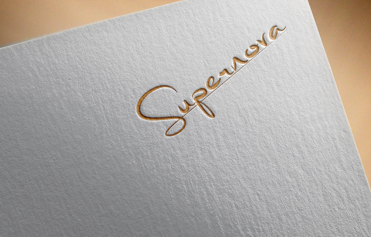 Logo Design by Saiful Islam - Entry No. 97 in the Logo Design Contest Creative Logo Design for Supernova.