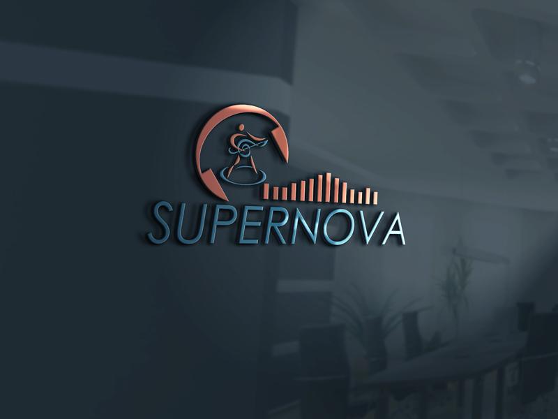 Logo Design by Salah Uddin - Entry No. 124 in the Logo Design Contest Creative Logo Design for Supernova.
