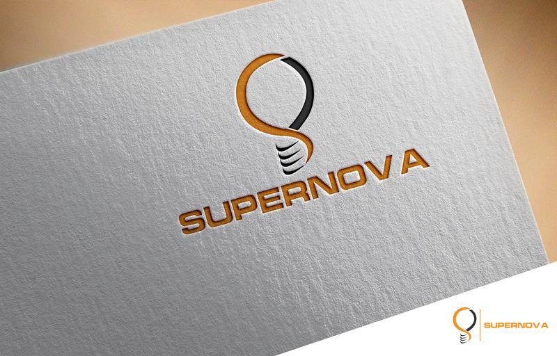 Logo Design by Mosharaf Karim - Entry No. 126 in the Logo Design Contest Creative Logo Design for Supernova.