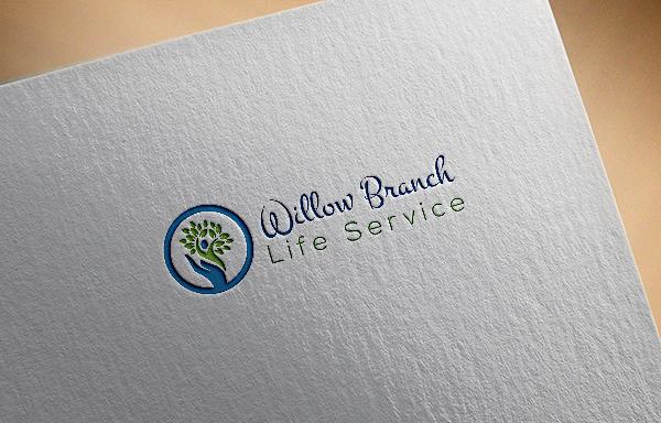 Logo Design by Nur Designer - Entry No. 344 in the Logo Design Contest Artistic Logo Design for Willow Branch Life Service.