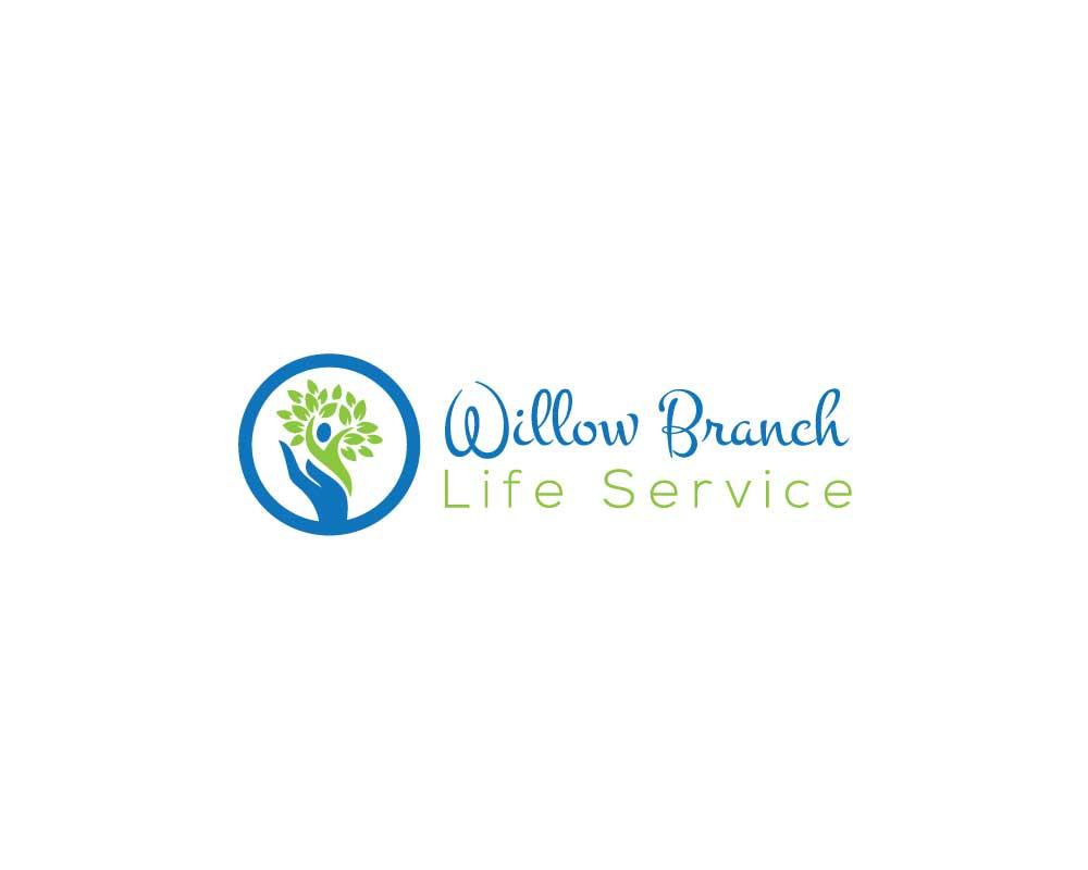 Logo Design by Nur Designer - Entry No. 347 in the Logo Design Contest Artistic Logo Design for Willow Branch Life Service.