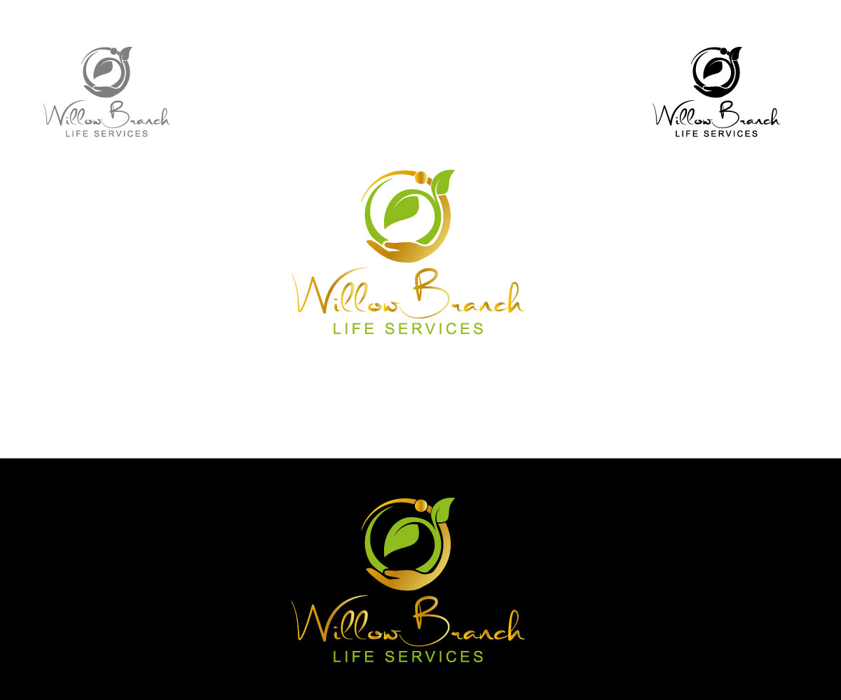 Logo Design by One Touch - Entry No. 349 in the Logo Design Contest Artistic Logo Design for Willow Branch Life Service.