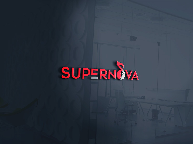 Logo Design by Mamun Hossain - Entry No. 139 in the Logo Design Contest Creative Logo Design for Supernova.
