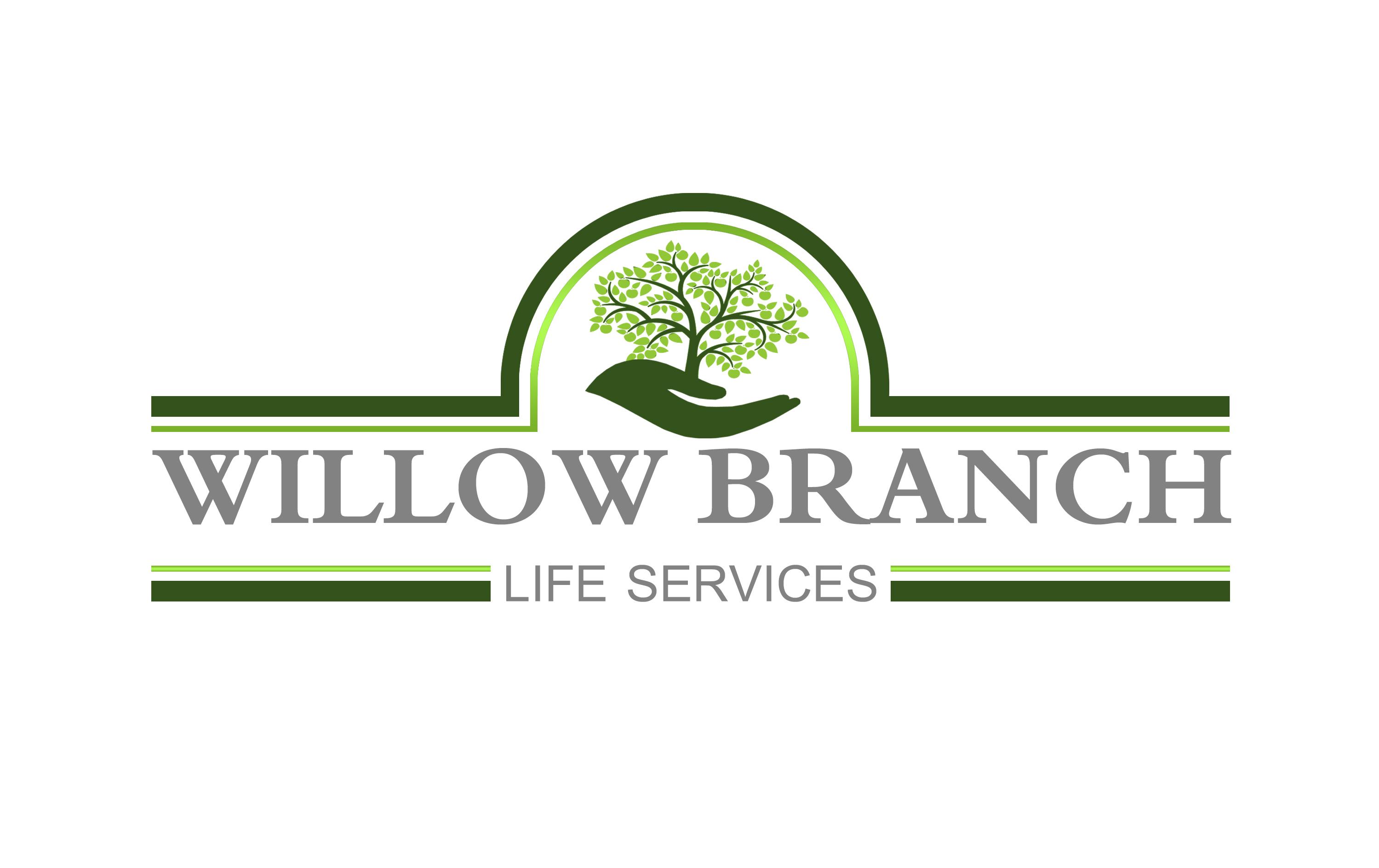 Logo Design by JSDESIGNGROUP - Entry No. 356 in the Logo Design Contest Artistic Logo Design for Willow Branch Life Service.