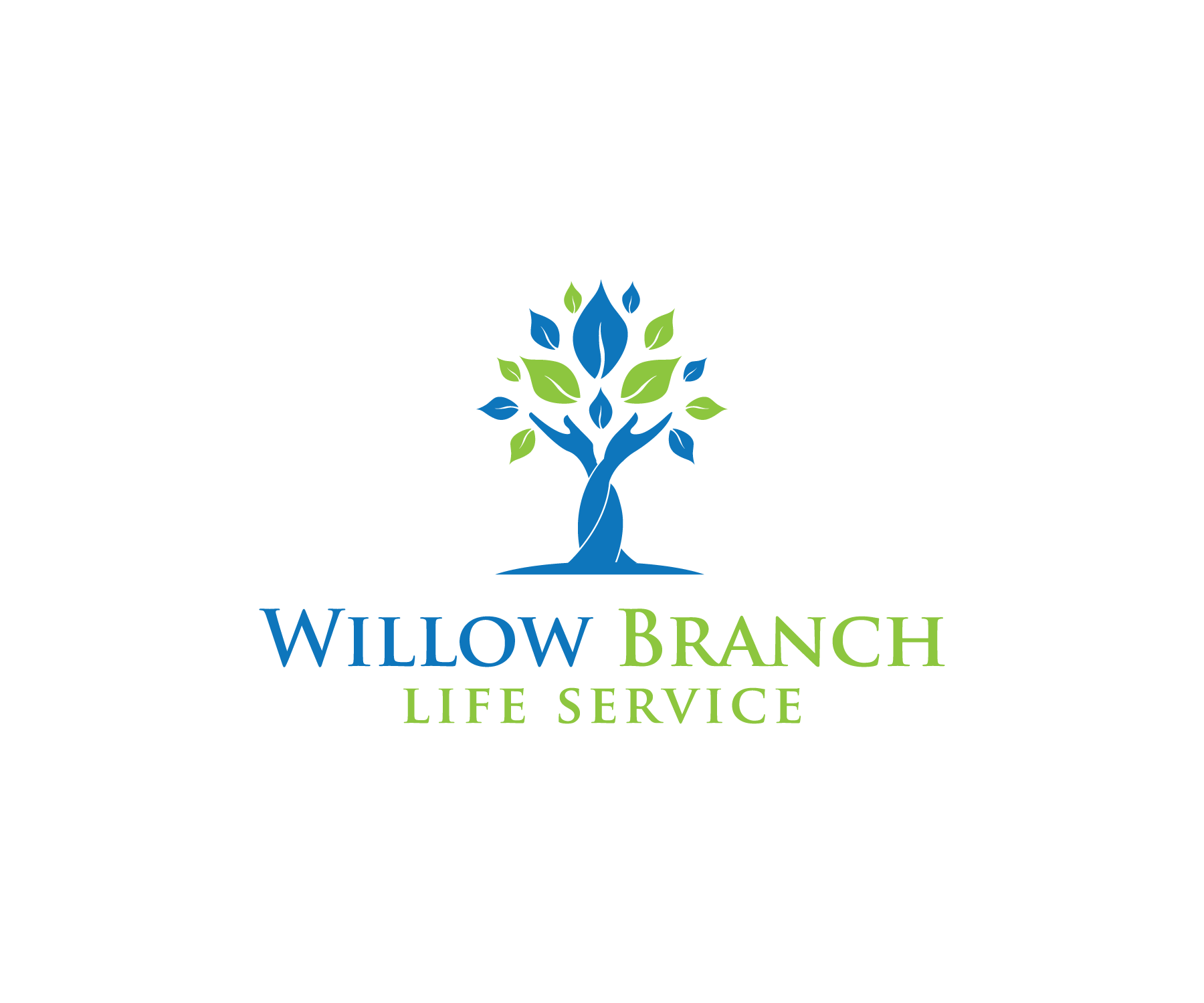 Logo Design by Nazmul Islam - Entry No. 357 in the Logo Design Contest Artistic Logo Design for Willow Branch Life Service.