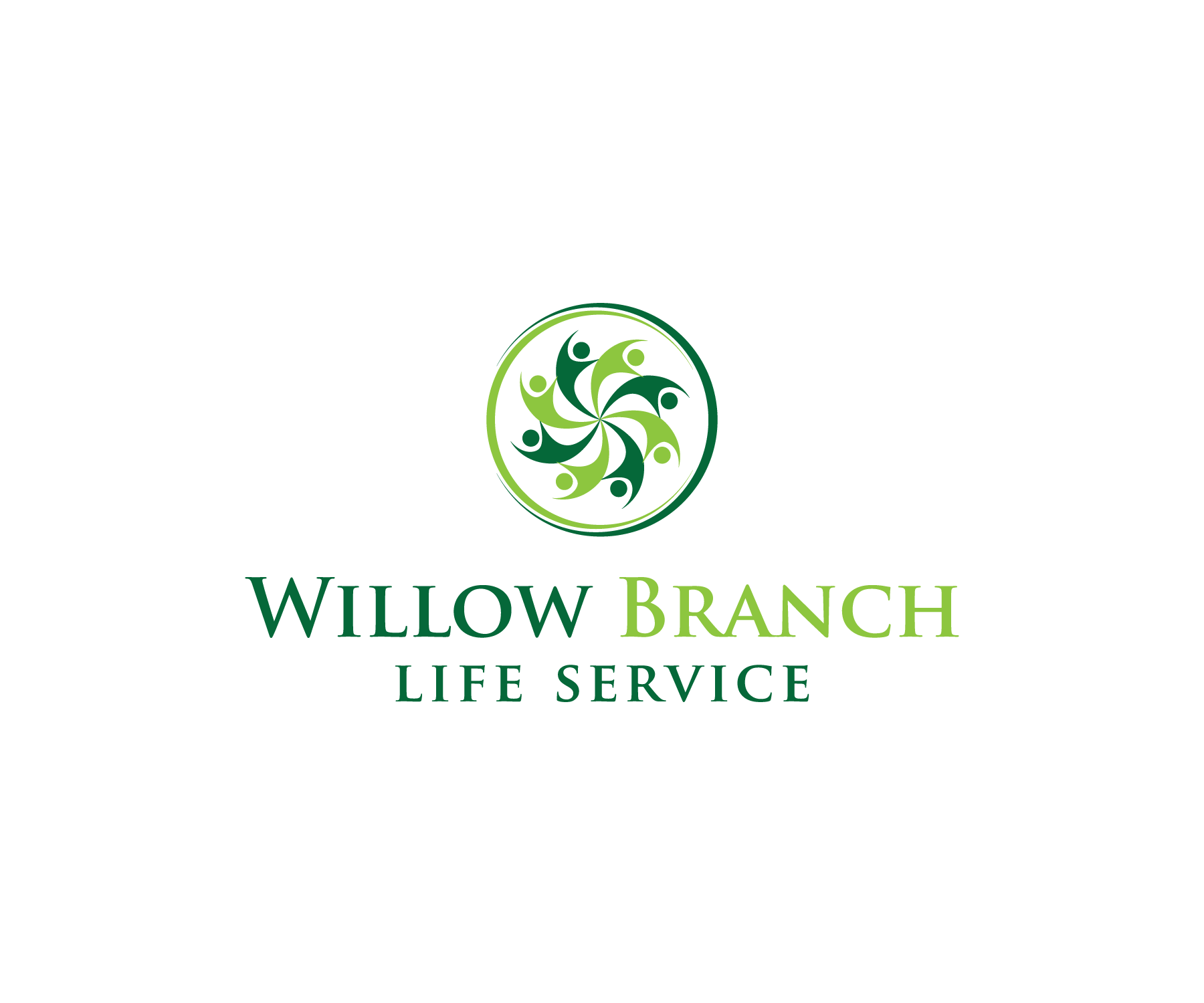 Logo Design by Nazmul Islam - Entry No. 358 in the Logo Design Contest Artistic Logo Design for Willow Branch Life Service.