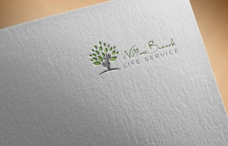 Logo Design by Mohammad azad Hossain - Entry No. 359 in the Logo Design Contest Artistic Logo Design for Willow Branch Life Service.