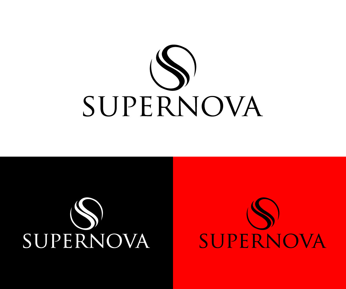 Logo Design by Tanisha Afroz - Entry No. 162 in the Logo Design Contest Creative Logo Design for Supernova.