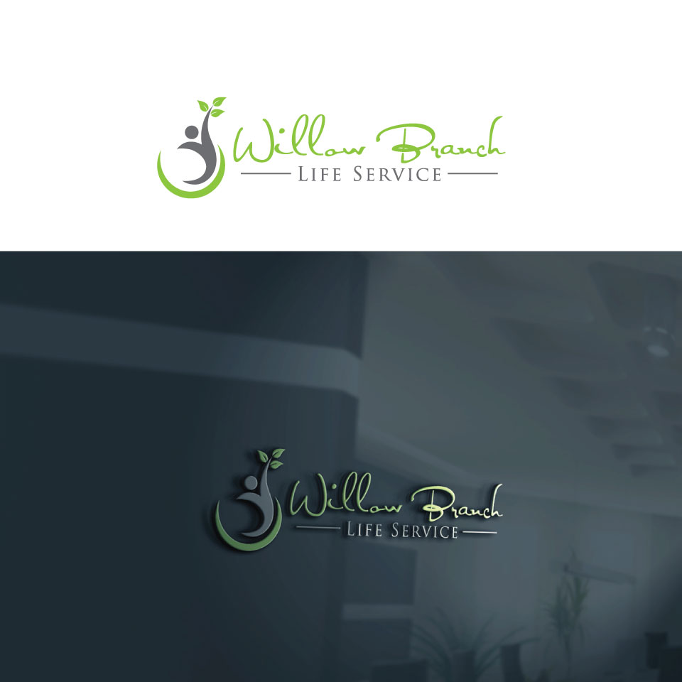Logo Design by Private User - Entry No. 363 in the Logo Design Contest Artistic Logo Design for Willow Branch Life Service.